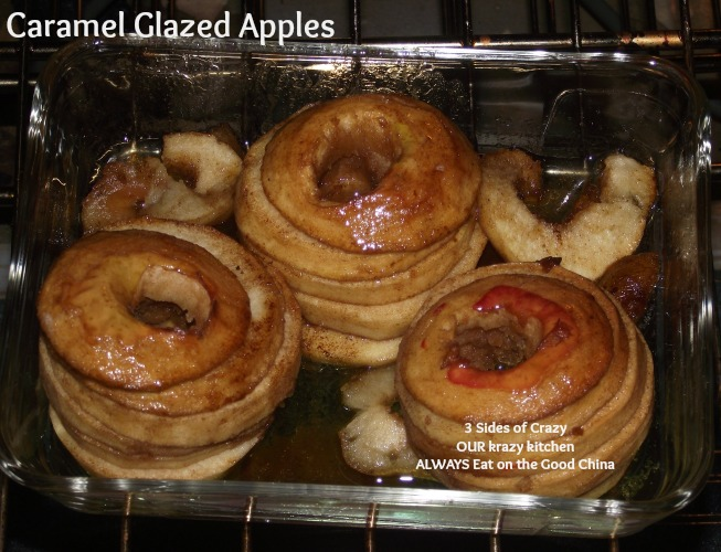 Caramel Glazed Apples