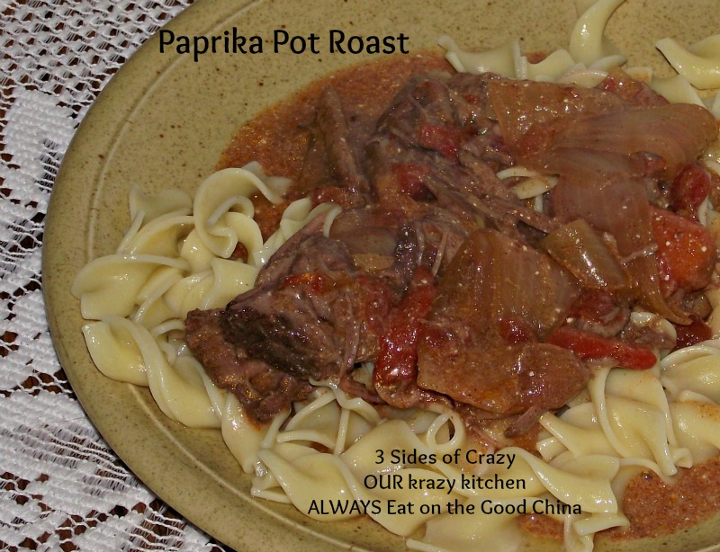 Paprika Pot Roast