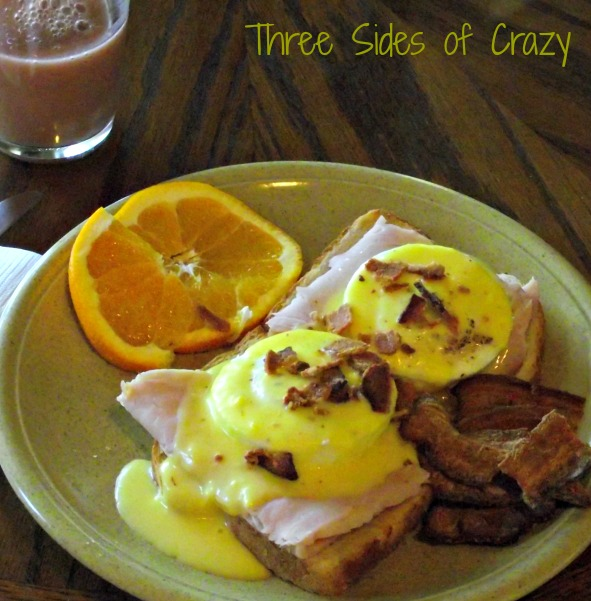 Turkey Orange Hollandaise Benedicts