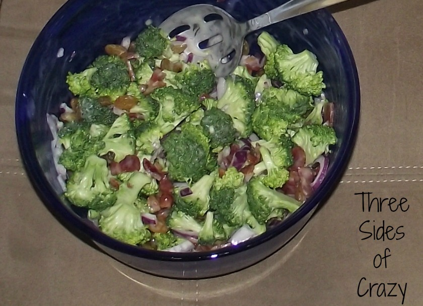 Broccolai Salad