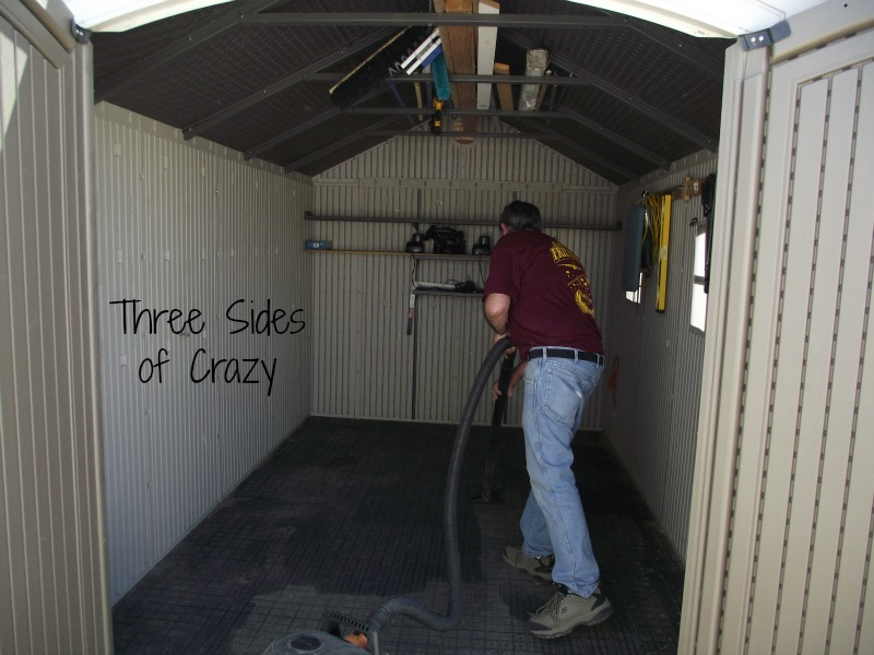shed vacuum