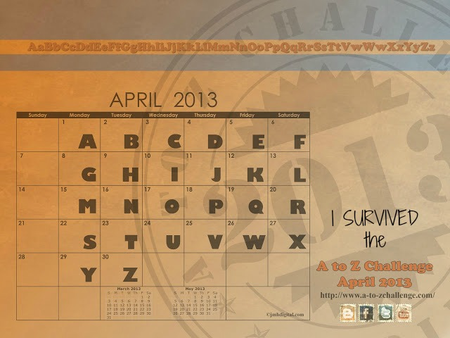 A-Z APRIL-2013 survivor